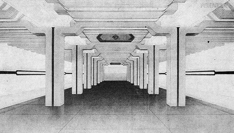 Проект интерьера станции ВЭФ