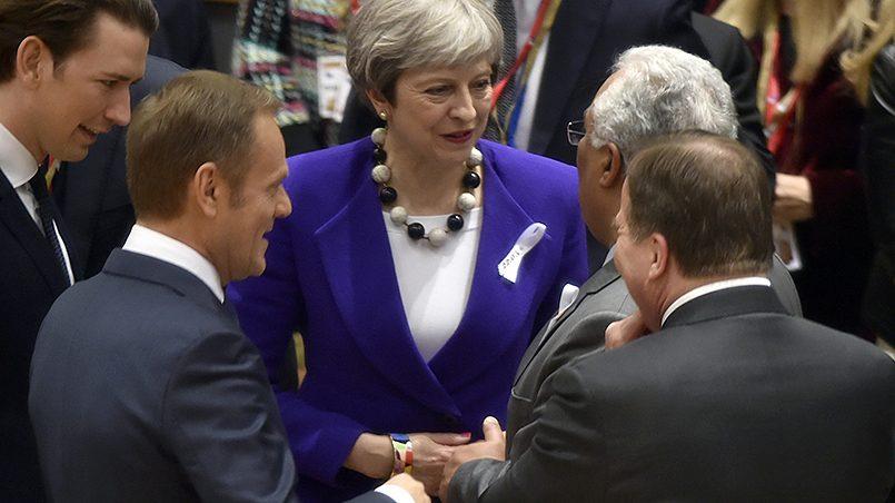 Премьер-министр Великобритании Тереза Мэй на саммите лидеров Евросоюза в Брюсселе, 22 марта 2018 года / Фото: gazeta.ru