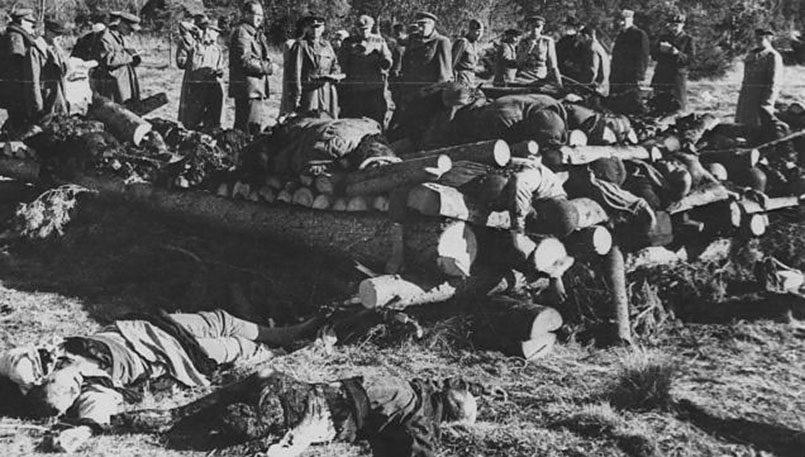 Комиссия, расследовавшая преступления нацистов в лагере Клоога
