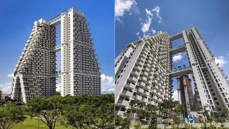 Sky Habitat в Сингапуре / Фото: YouTube