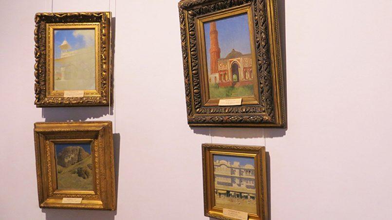 Картины Верещагина в музее / Фото: Виктория Иващенко