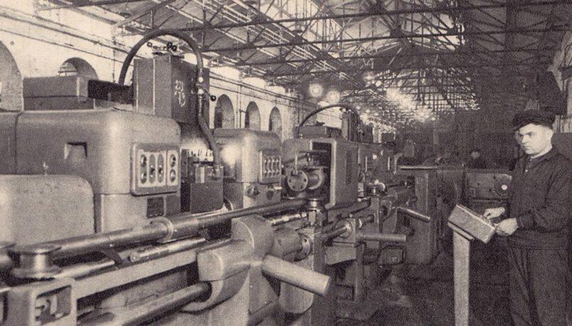 Автоматизированное производство на заводе «Вольта». Электромоторы с маркой «Вольта» были известны всему Советскому Союзу / Фото: STENA.ee