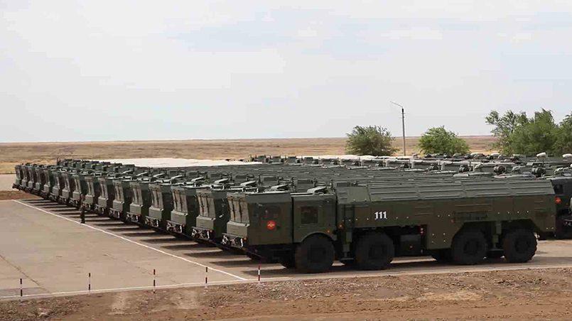 Ракетные комплексы «Искандер» / Фото: politikus.ru