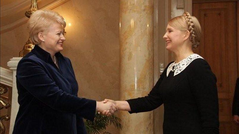 Даля Грибаускайте и Юлия Тимошенко / Фото: economics-prorok.com
