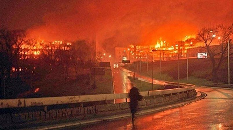 Бомбардировка Белграда / Фото: news-front.info