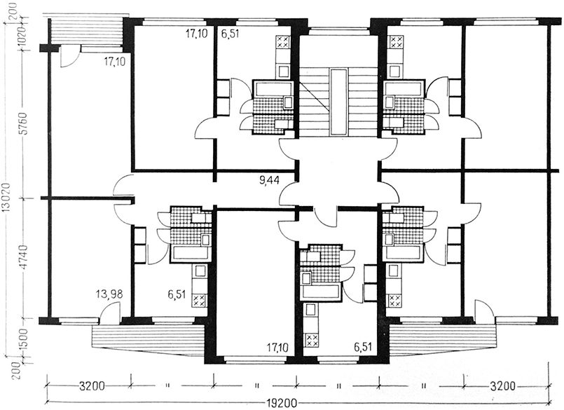 Планировка квартир, рис. 2