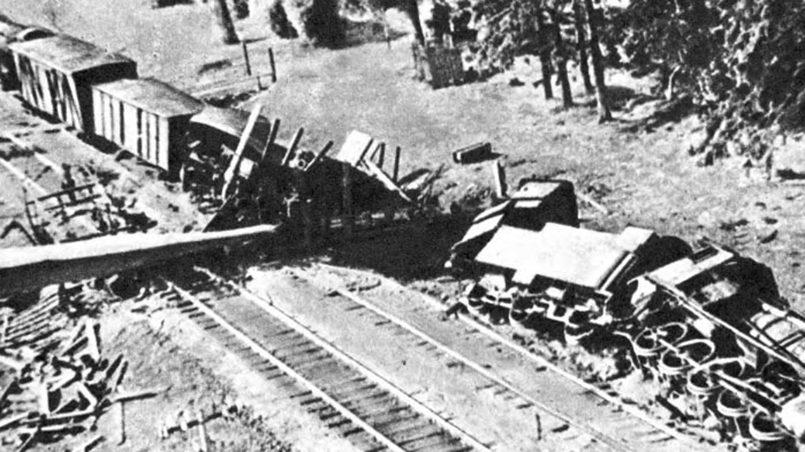 Литовские партизаны уничтожали склады, взрывали грузы и подрывали составы