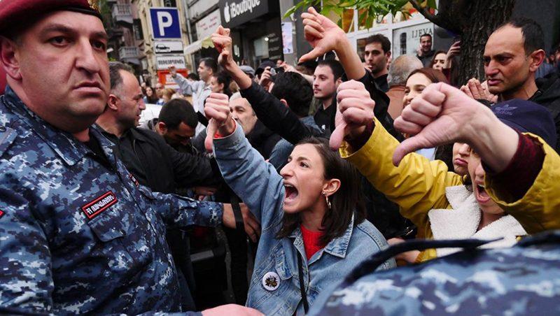 Протесты в Армении / Фото: 24 Канал