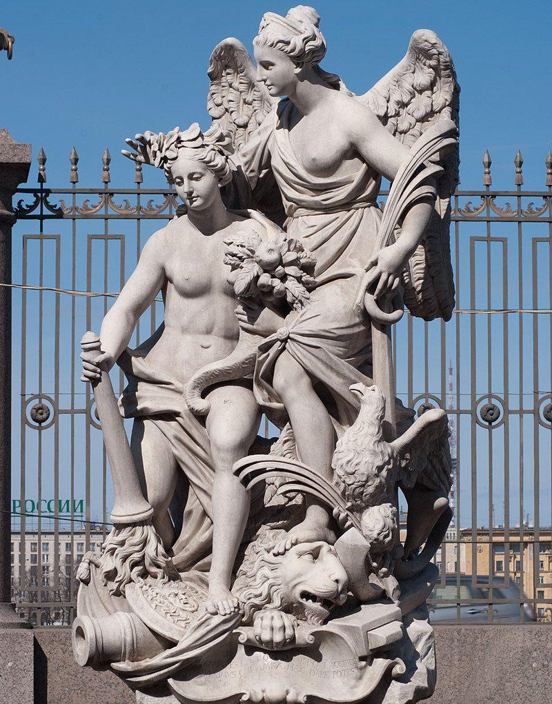 Аллегорическое изображение Ништадтского мира в Летнем саду