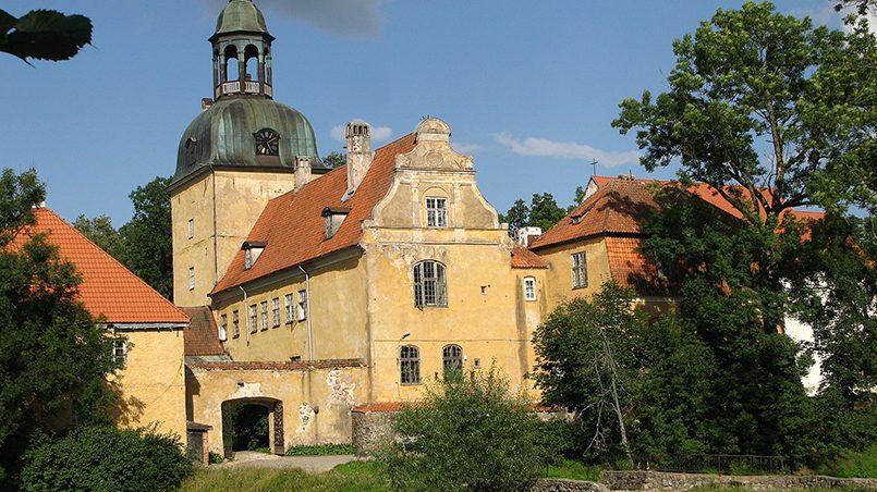 Лиелстраупский замок / Фото: wikimedia.org