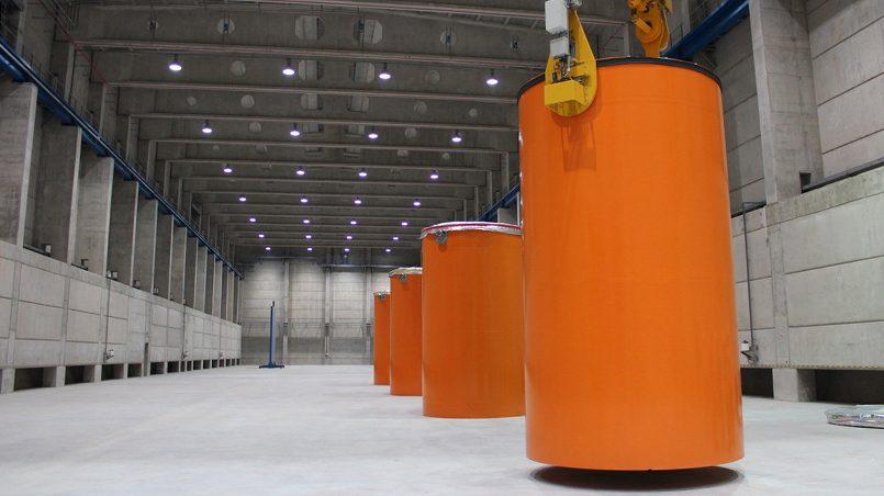 Хранилище отработавшего ядерного топлива, спроектированное Nukem Technologies для Игналинской АЭС / Фото: atomic-energy.ru