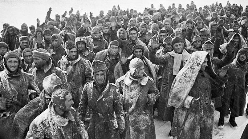 Пленные немцы под Сталинградом / Фото: ya-znau.ru