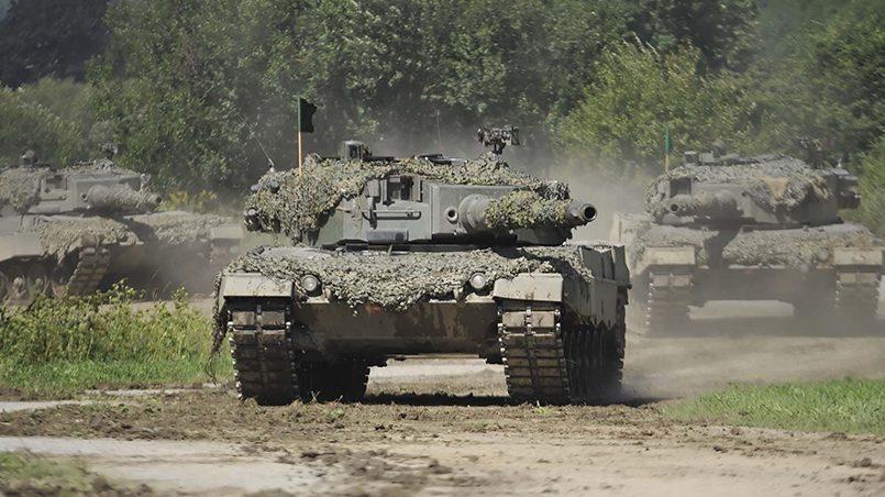 Немецкие танки Leopard / Фото: bundesheer.at