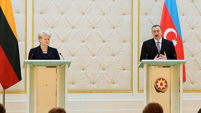 Президенты Азербайджана и Литвы / Фото: Президент Азербайджанской Республики