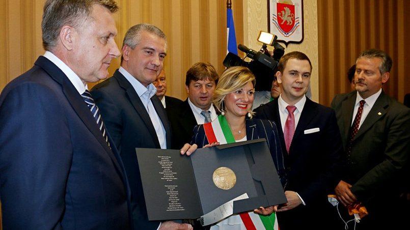 Визит делегации депутатов и бизнесменов из Италии в Крым / фото: Илья Изотов / РГ