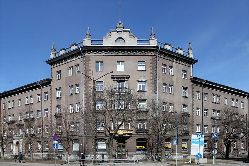 Жилищное и бытовое здание завода «Вольта» в 1945–1980 годах / Фото: wikimedia.org