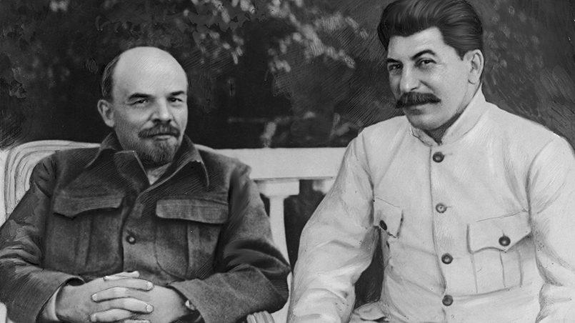 Слева направо: В.Ленин и И.Сталин / Фото: wikipedia.org