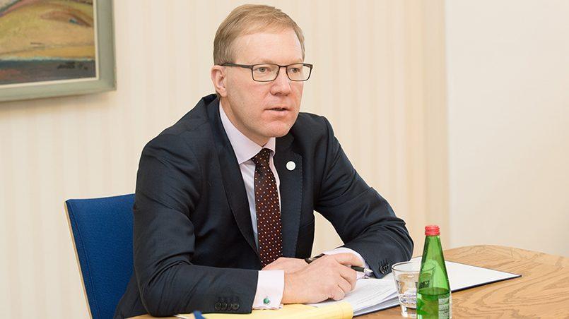 Марко Михкельсон / Источник: riigikogu.ee