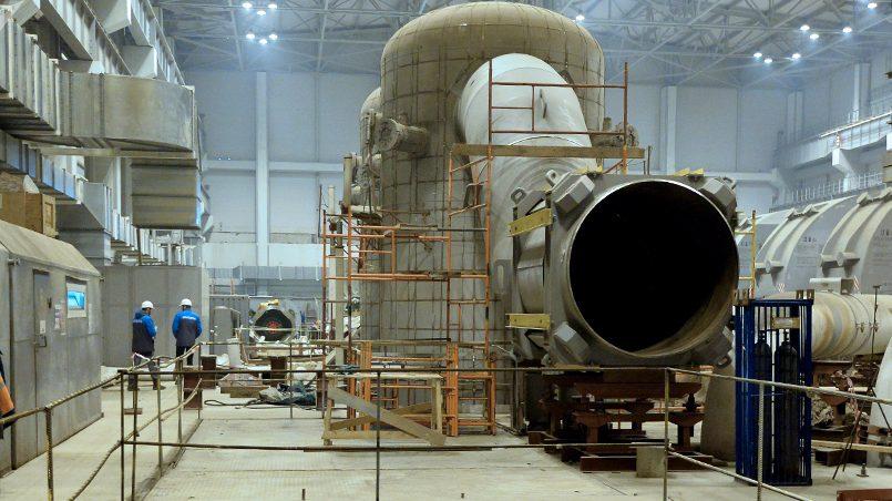 Турбинный зал БелАЭС / Фото: Sputnik Беларусь