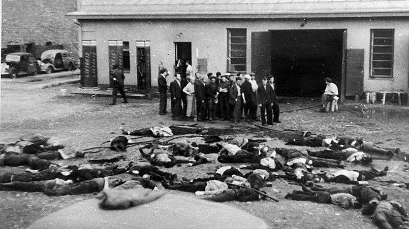 В период нацистской оккупации 1941–1944 годов в Литве было уничтожено не менее 90% 208 тысяч литовских евреев / Фото: obzor.lt