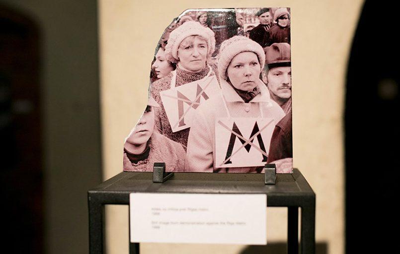 Участницы протестов 1988 года против строительства Рижского метра. С них началось антисоветское движение в Латвии