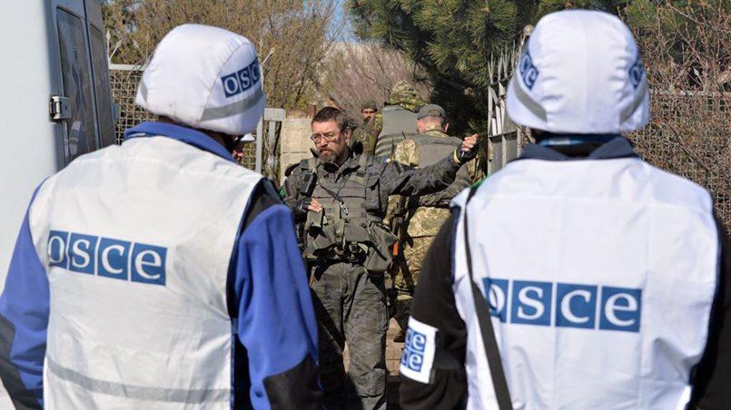 Члены мониторинговой миссии ОБСЕ в Донбассе / Фото: svoboda.org