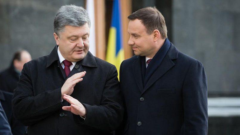 Петр Порошенко и Анджей Дуда / Фото: uapress.info