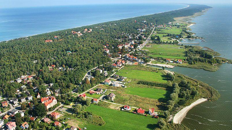 Крыница морска, город, расположенный на Вислинской косе / Фото: elblag.ru