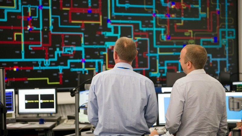 Центр управления Национальной энергосети Великобритании. Фото: nationalgrid.com