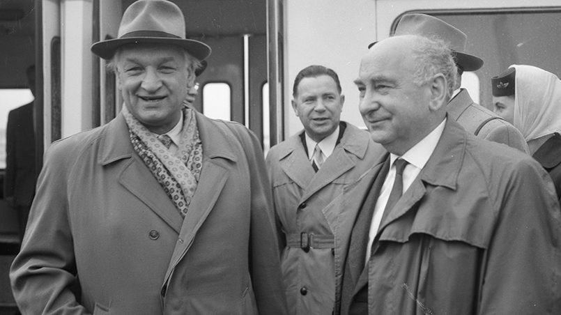Слева направо: Юстас Палецкис и Пантелеймон Пономаренко / Фото: wikipedia.org