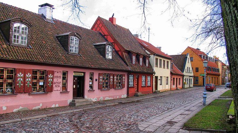 Клайпеда. Виды Старого города