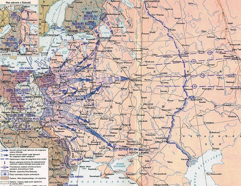 План «Барбаросса» / Фото: worldmilitary.net