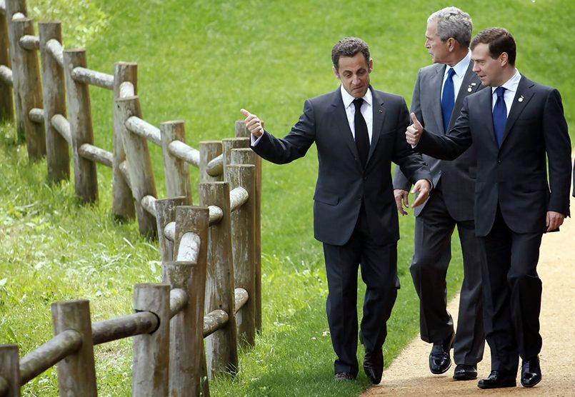 Дмитрий Медведев на саммите G8 в июле 2008 г. Фото: epa.eu