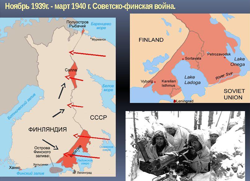 Приобретения СССР по итогам советско-финляндской войны