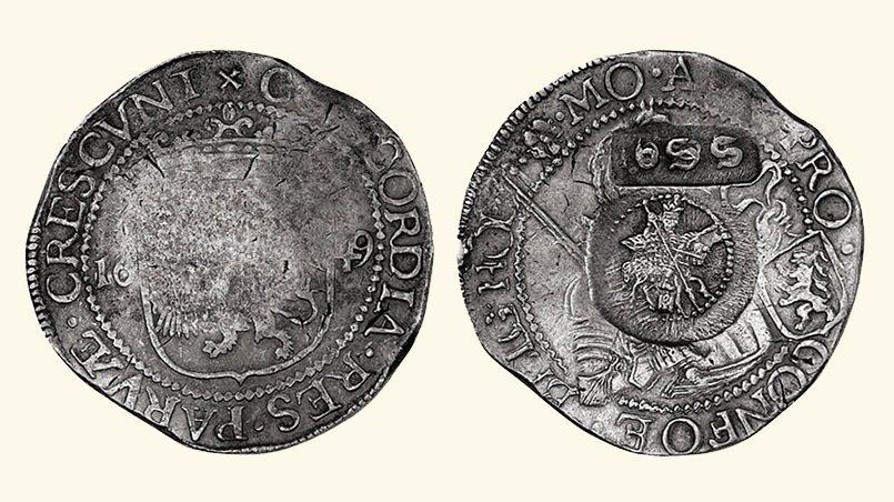 Два миллиона таких западноевропейских серебряных талеров заплатил Петр Первый Швеции в обмен на отказ от претензий на Прибалтику