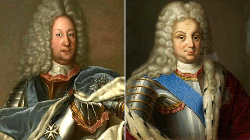Слева направо: Борис Петрович Шереметьев после восьмимесячной осады получил долгожданные ключи от Риги | Аникита Иванович Репнин, участвовавший во взятии Риги в 1710 году. Первый ее правитель в истории России