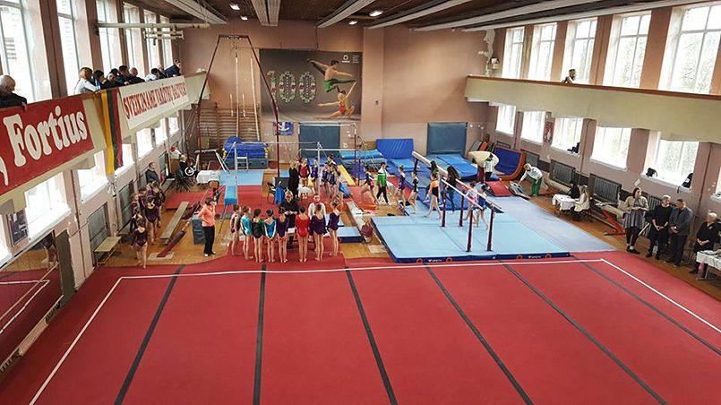 Спортивная школа гимнастики, Вильнюс