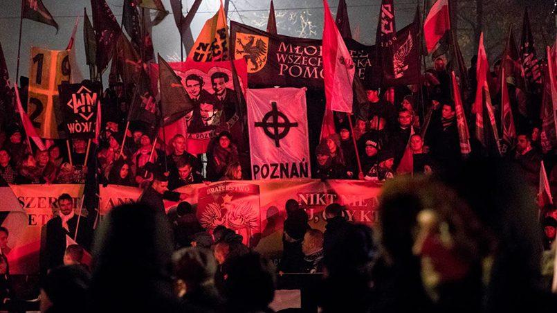 На марше независимости Польши 2017 года / Фото: krytykapolityczna.pl