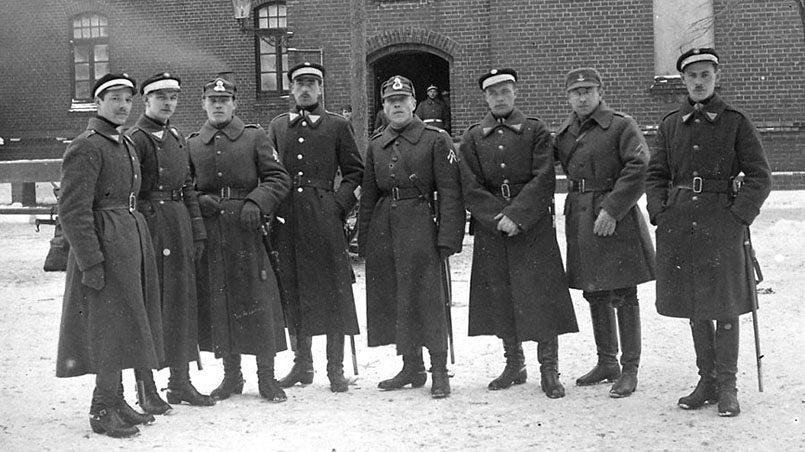 Участники Клайпедского восстания 10 января 1923 года