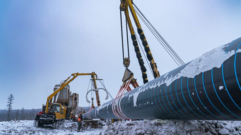 Строительство газопровода «Сила Сибири» / Фото: gazprom.ru