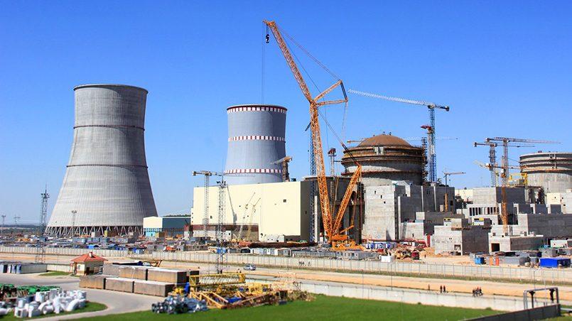 Строительство Белорусской АЭС / Фото: facebook.com
