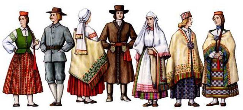 Латгальские костюмы