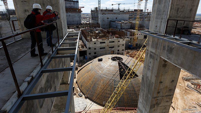 Строительство Белорусской АЭС российским концерном «Росатом»