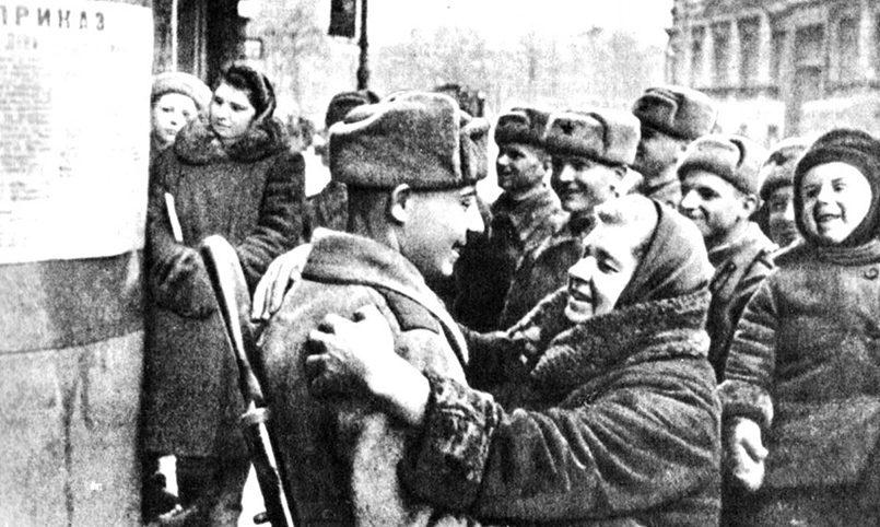 Снятие блокады Ленинграда / Фото: lokkprf.ru