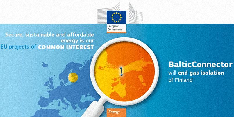 «Balticconnector покончит с газовой изоляцией Финляндии» / Фото: ec.europa.eu