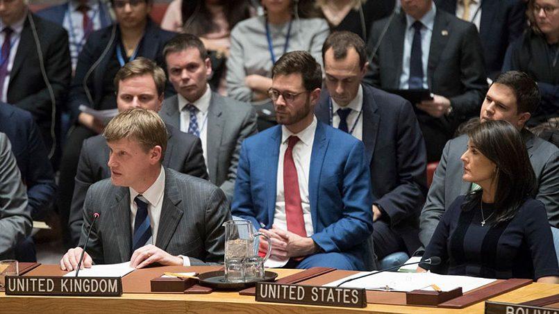 Заседание Совбеза ООН / Фото: AP Photo / TASS