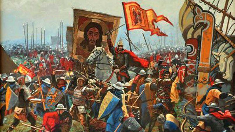 Невская битва 1240 года