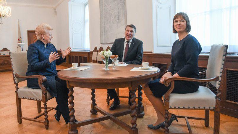 Президенты Литвы, Латвии и Эстонии / Фото: sputniknews.lt