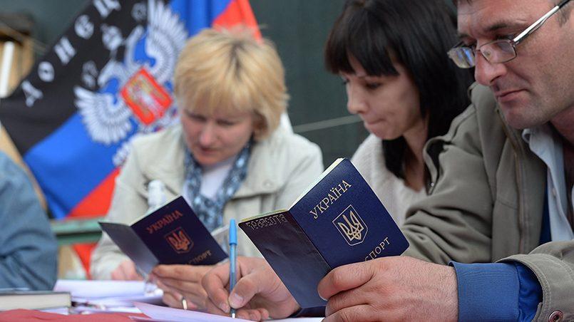 Референдум в Донецкой области: около 90% избирателей проголосовали за независимость / Tengrinews