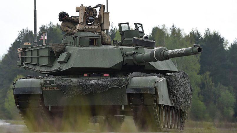 Американский танк на маневрах в Европе / Фото: BBC